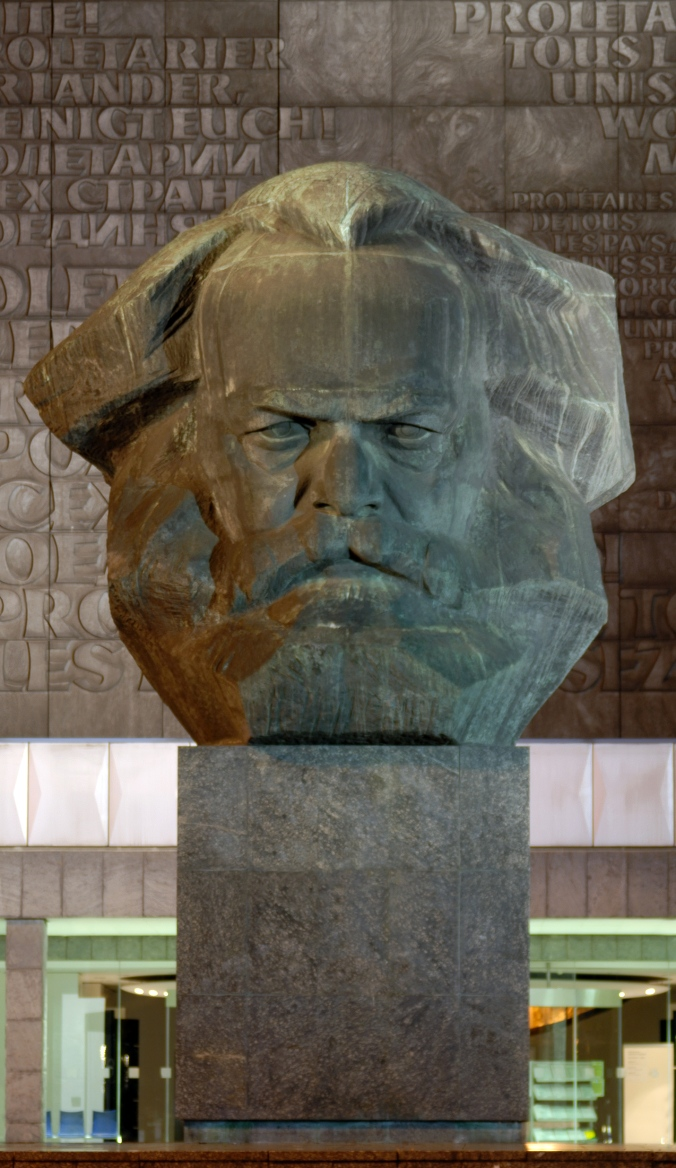 This Karl Marx memorial still stands in the former Karl Marx Stadt (now called Chemnitz) in Germany.  (Photo credit: André Karwath)