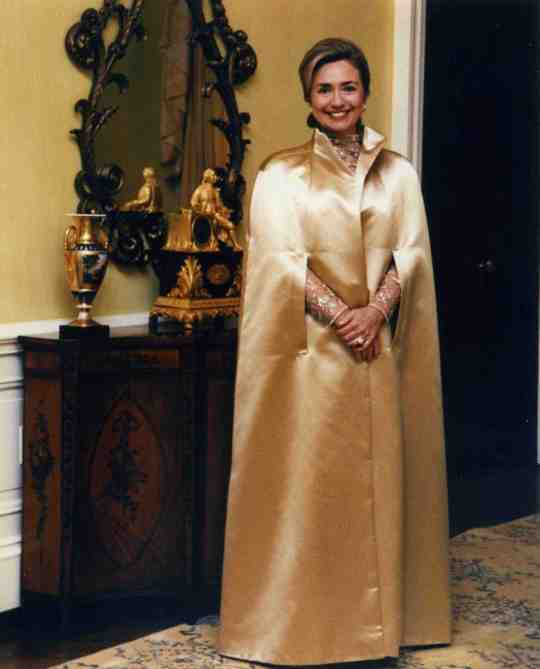 Hillary's golden years before her golden years.  (Photo credit: Henry Dunay)