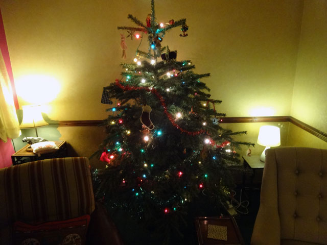 Christmas should be every day, sort of.  (Photo credit: Mount Pleasant Granary)